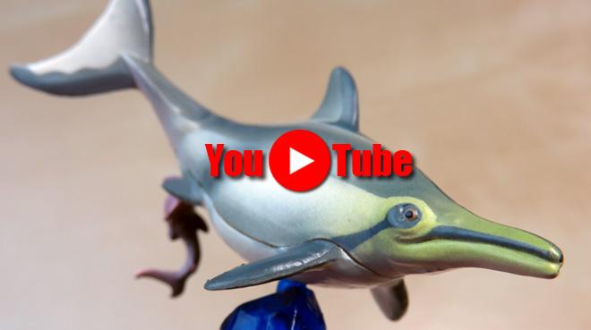 【恐竜発掘記 プレシオサウルス ~巨竜達の海~】アイデアが素晴らしい!海洋堂 カプセルQミュージアム