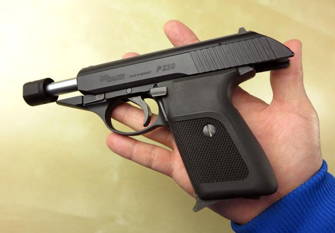 SIG P230 日本警察も採用するコンパクトオート KSC ガスガン