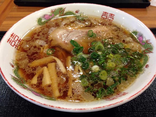 尾道ラーメン【八幡パーキングエリア(下り線)】 意外な美味さで完食!レベル高いラーメンを食べれたPAでした。