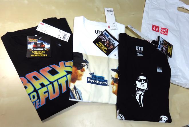 【ブルースブラザーズ】 Tシャツが今年も!【ユニクロ UT】アメリカンムービーキャラクターズ さっそくゲットしてきたぞ!