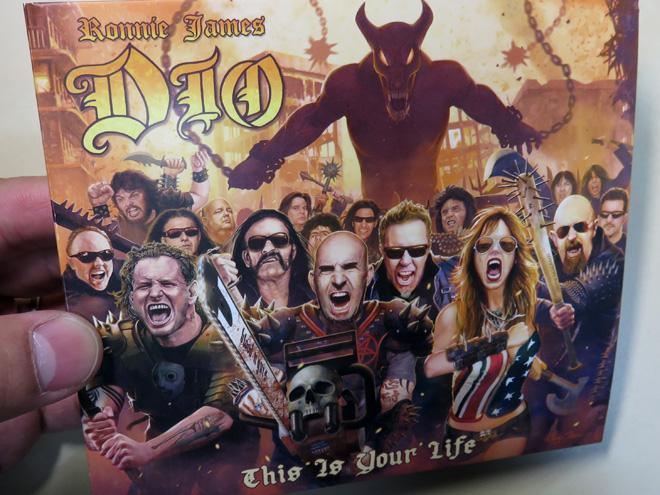 豪華アーティスト参加!ヘヴィメタルとディオの楽曲に浸る、こりゃたまらん盤ゃん!Ronnie James Dio This Is Your Life
