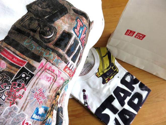 【スターウォーズ】Tシャツが多種販売開始じゃ!今年のUTはスターウォーズイヤーらしい展開です。STAR WARS UTGP2015