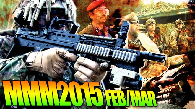 雨天決行!モダンミリタリーミーティング2015 記録映像 MMM2015 FEB/MAR MOVIE 軍曹どうでしょう?#63