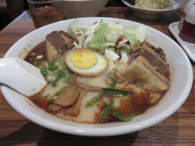 【桂花ラーメン】熊本の濃い味に満足だ!太肉麺(ターローメン)を食べました。