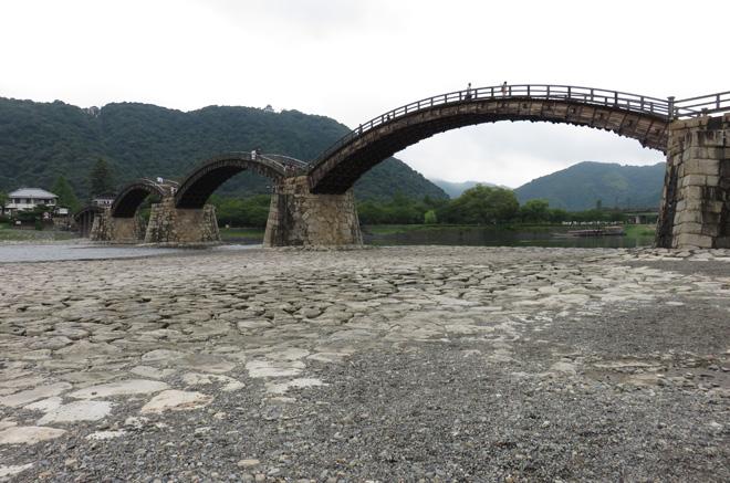 美しい木造の巨大橋【錦帯橋(山口県岩国市)】行ってみたかった、渡ってみたかったんだ!