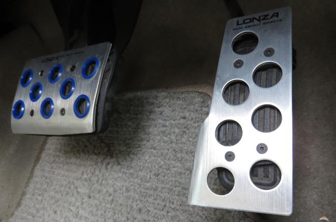 ナポレックス(NAPOLEX) ペダル LONZA(ロンザ) ATペダルセット LZ-303