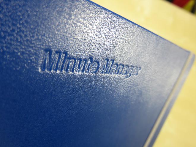 来年のスケジュール帳を買いました。【Minute Manager】いつまでも手書きスケジュールを使うつもり?