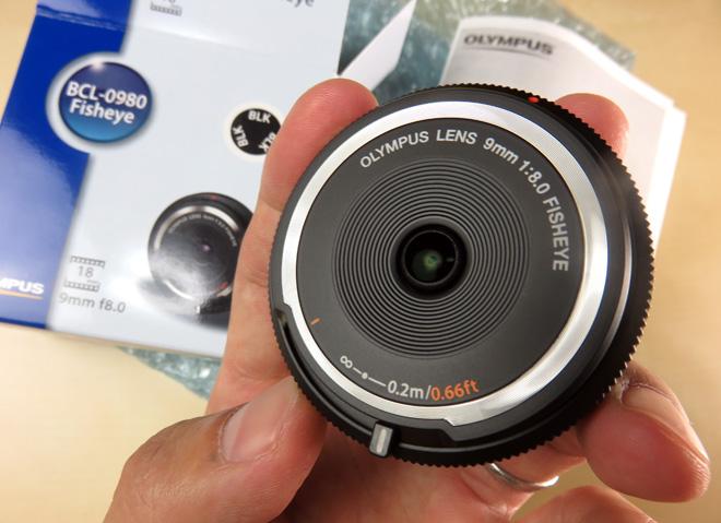 ボディキャップなのにレンズ?【OLYMPUS 9mm f8 フィッシュアイ ボディキャップレンズ】楽しいフィッシュアイ広角レンズだ!