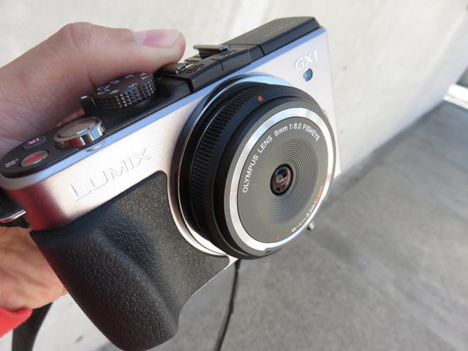 OLYMPUS ミラーレス一眼 9mm f8 フィッシュアイ ボディキャップレン