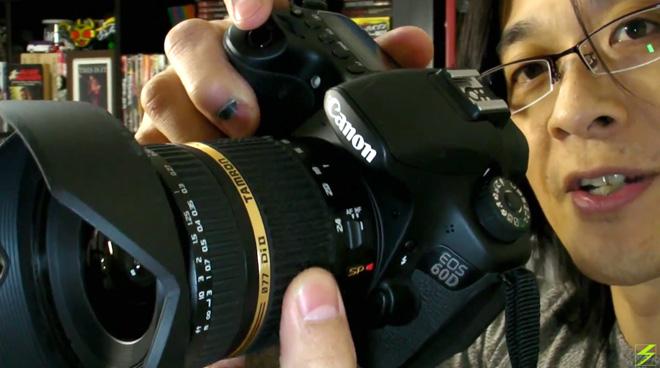 キヤノンEOS 60D+タムロン広角ズームレンズ  デジタル一眼レフ動画にハマりそうよ!【TAMRON 10-24mm LENZ】