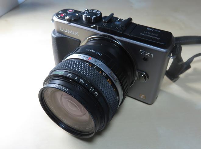 ZUIKO OM-SYSTEM 24mm F2.8