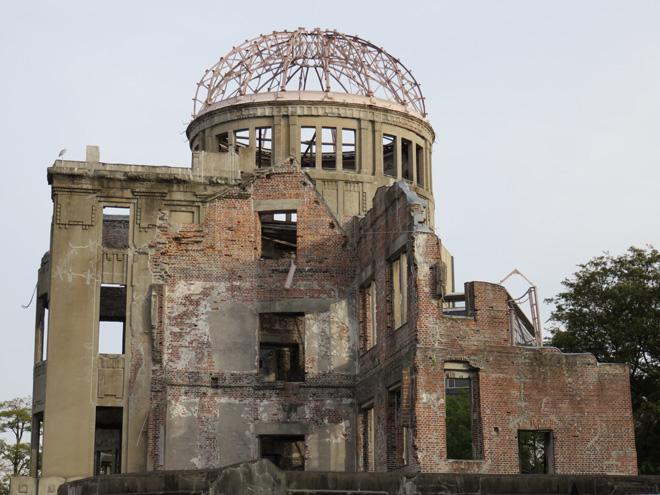 平和を祈る世界遺産【原爆ドーム】を見てきた!広島平和記念碑 Atomic Bomb Dome in Hiroshima Japan the World Heritage.