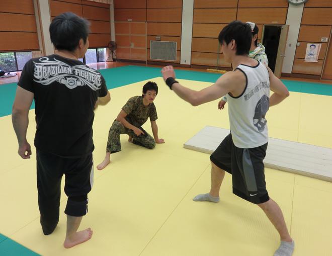 アクション映画リハーサルで広島へ!プラスムービーオート機能で撮影したリハーサル動画があるよ。