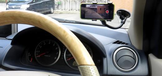スマートフォン車載ホルダー