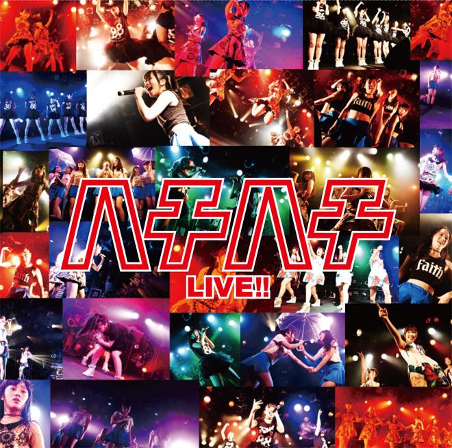 ハチハチLIVE!! 大阪☆春夏秋冬 ライブ盤 ジャケットデザイン