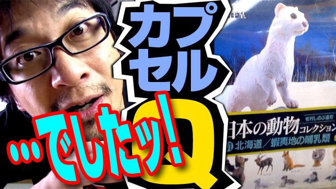 【日本の動物コレクション⑥北海道】…でしたッ!【2回目】海洋堂カプセルQミュージアム