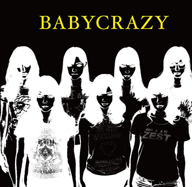 BABY CRAZY 大阪☆春夏秋冬 3rdシングル ジャケットデザイン