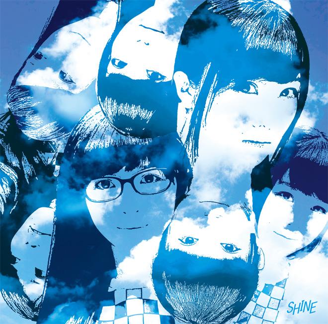 SHINE 大阪☆春夏秋冬 4thシングル ジャケットデザイン