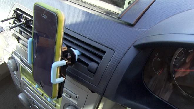 スマートフォン車載ホルダー Poweradd パワーアド