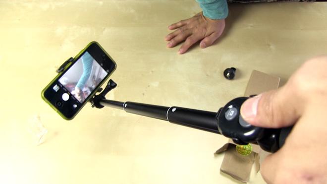 汎用性あり!【Gshine Bluetooth 自撮り棒】こりゃ何かと活用できそうです。