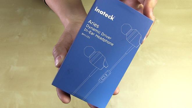 シンプルな使い心地が良い!【Inateck Aries インイヤーヘッドフォン】電話にも使えます。