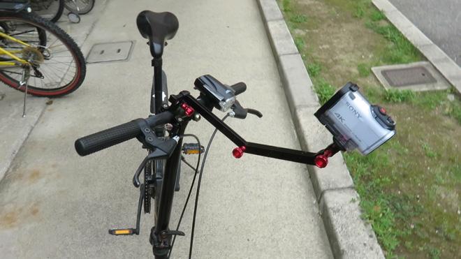 活用していけ!【GoPro用 アルミニウム合金エクステンションアームマウントキット】いろいろ使えそう。