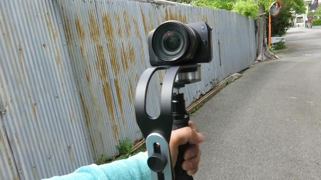 自撮りスタビライザー?【1.5kg Handheld Video Stabilizer Banggood】小さなカメラで使うお気軽スタビライザー