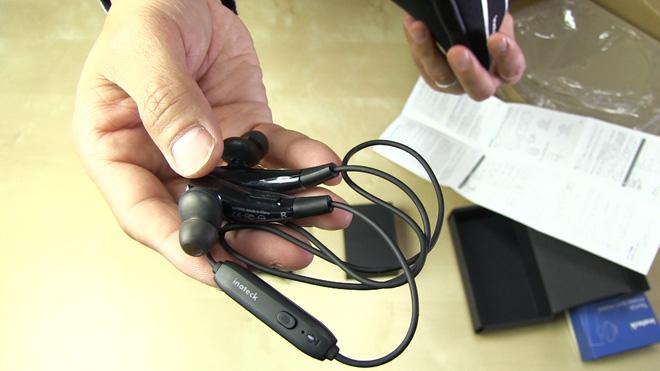 ワイヤレスは快適だ!【Inateck Bluetooth 4.1 ステレオ インイヤーヘッドフォン】