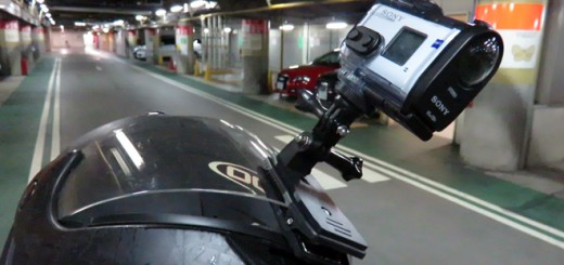 GoPro HD Hero2 / Hero3 /Hero3+ 用 360°回転式クリップ・マウント