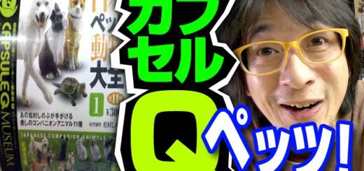 日本ペット大全① 海洋堂カプセルQミュージアム