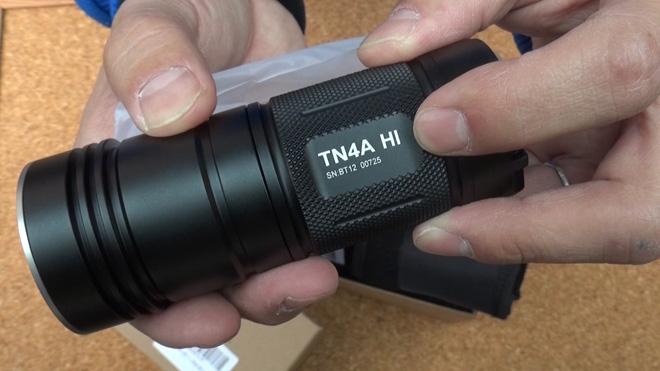 エッジを立てて夜に見せる?【ThruNite® TN4A HI フラッシュライト】昼間のライティングに使ってみる。