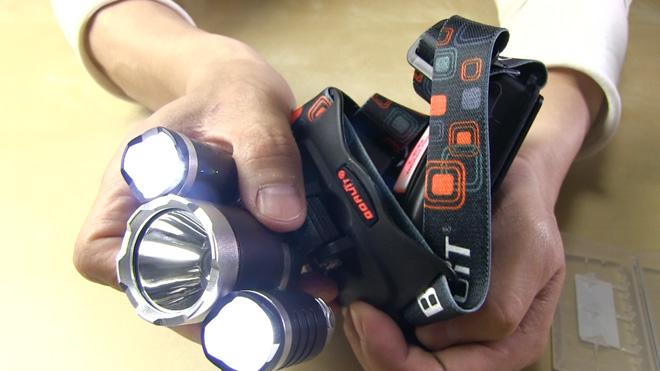 見た目はボトムズ?【ポテンシック Potensic CREE XM-L T6 LEDヘッドライト】