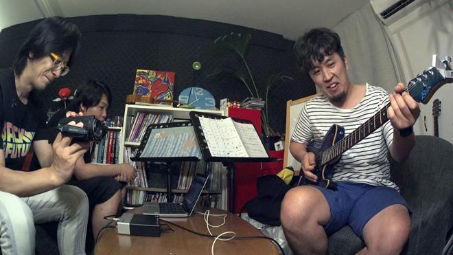 超絶ギターをレコーディング!音楽制作の現場がユルい?でも楽しいんだよ?
