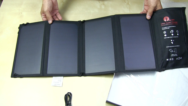 1byone 折り畳み式ソーラーパネル