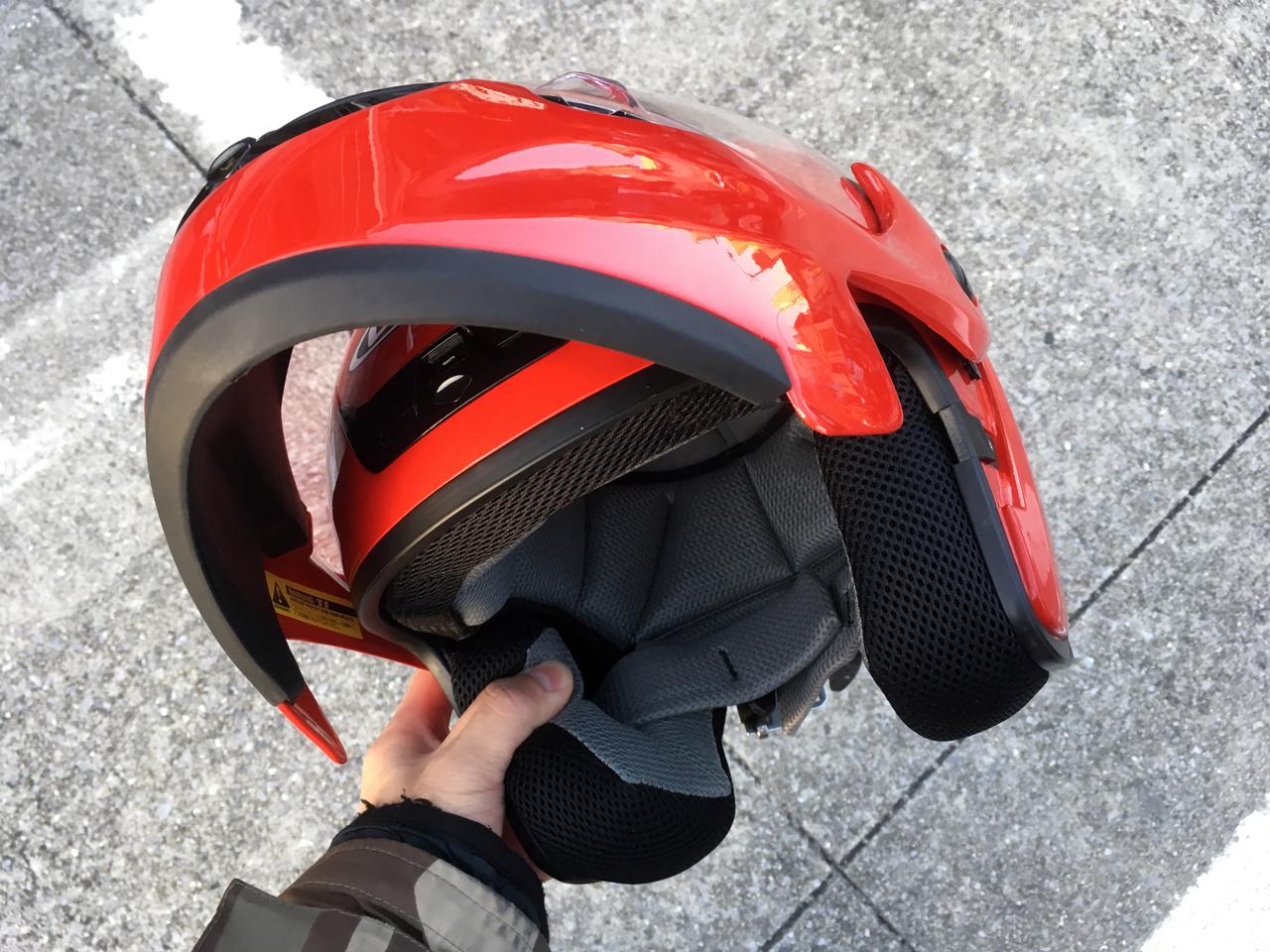 【テレオス3】スタンダードなシステムヘルメット。OGKデッドストック品でヘルメットを新調!