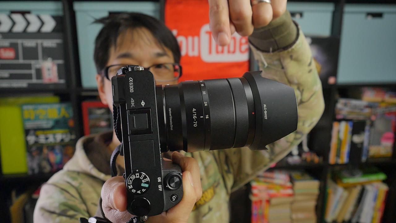 SONY α6300 E16-70mm F4
