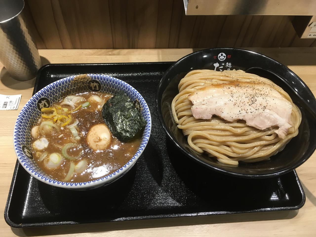 つけ麺、うまし!麺屋【たけ井】梅田阪急駅構内に進出した京都の老舗ラーメン店。