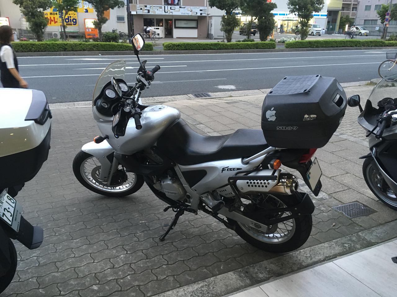 バイク修理完了!愛車【BMW F650】復活しました。