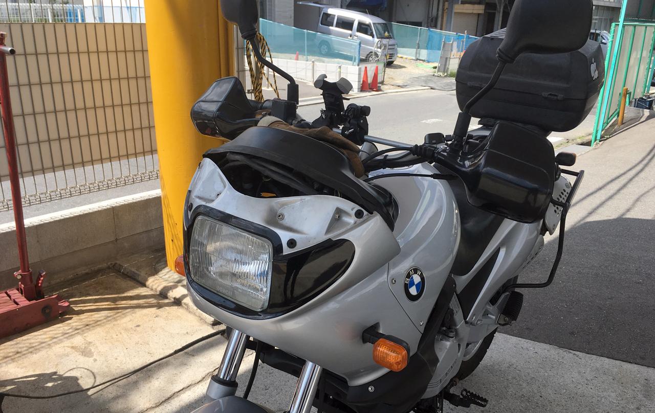 BMW F650 ユーザー車検