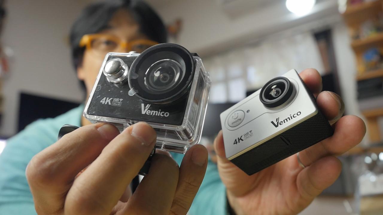 4K撮影リベンジなるか?【Vemico】安価アクションカム 価格差10倍の大きな違いを活かした映像とは?