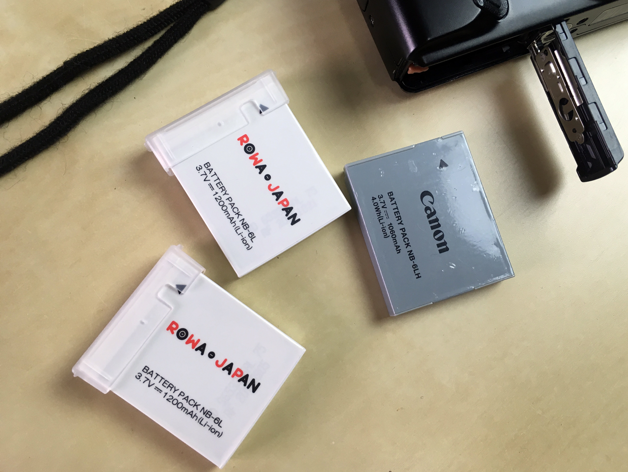 キヤノン NB-6L NB-6LH 互換 バッテリー