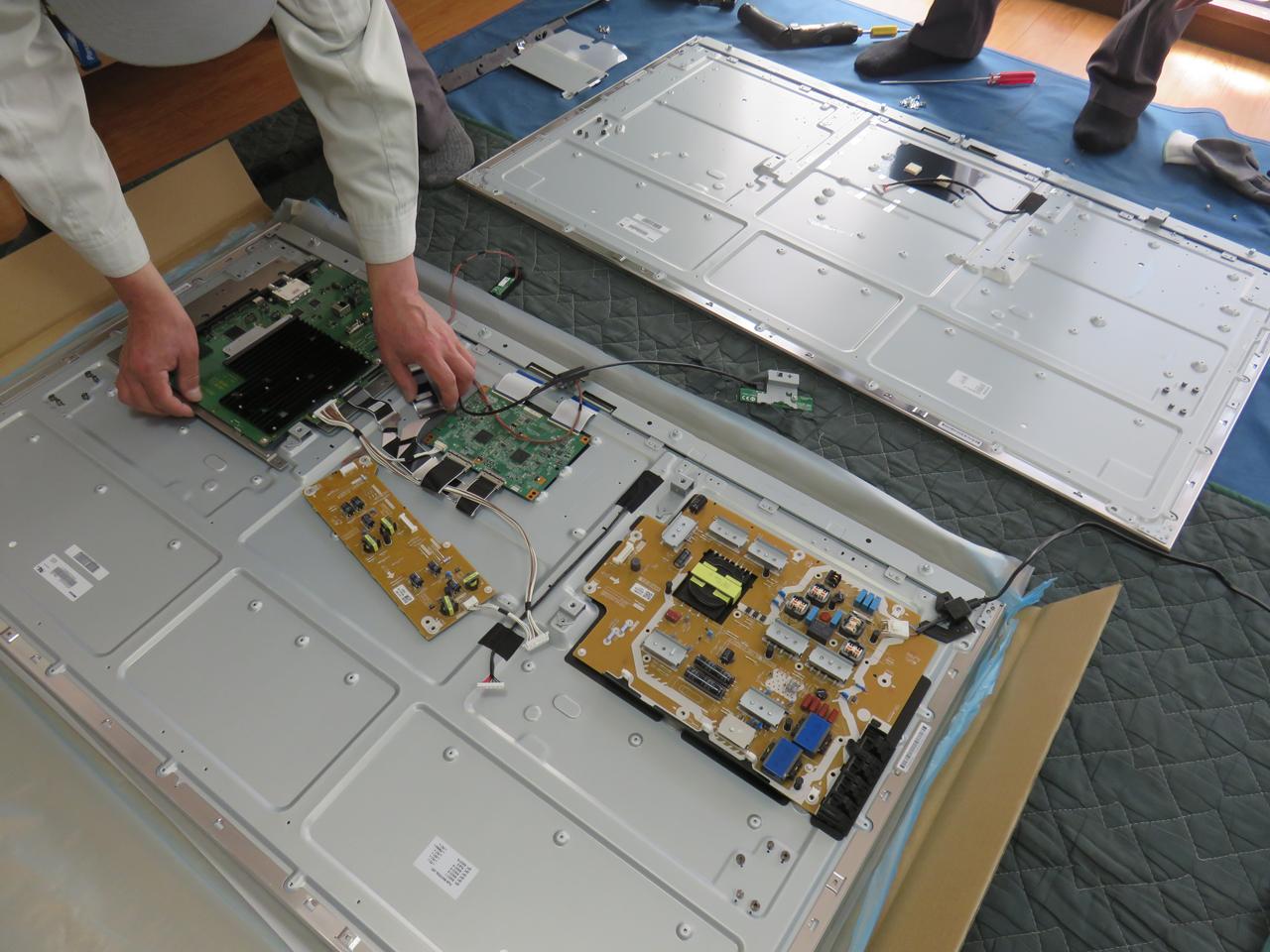 パナソニック テレビ修理