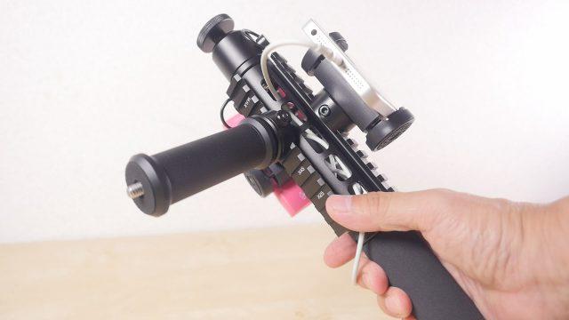 多用途カメラガジェット【ピカギア(Pica-Gear) PICA-POD】ピカティニーレール装備!